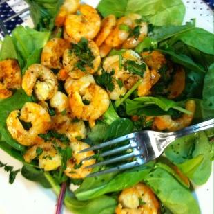 Citrus Salt Shrimp Salad