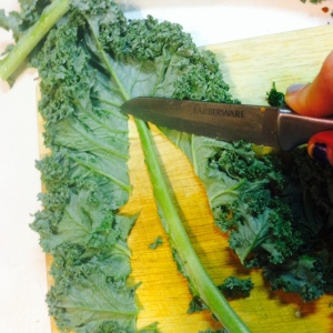 kale strip