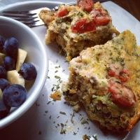 Slow Cooker Provençal Egg Casserole